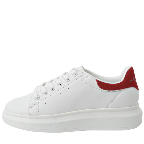 돔바 하이 포인트 SP (HIGH POINT SP (WHITE/RED SP)) [H-9017]